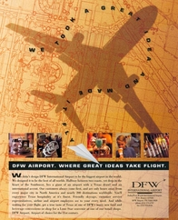 Click on ad to view DFW Airport campaign